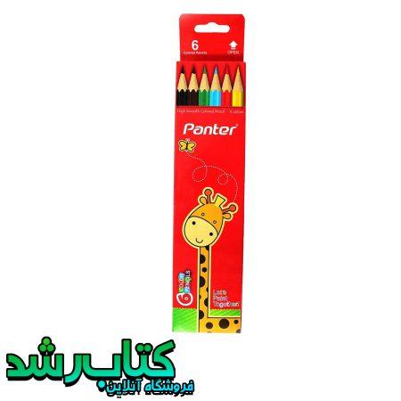 مداد رنگی 6 رنگ پنتر