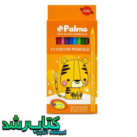 مداد رنگی 12 رنگ پالمو